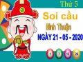 Soi cầu XSBTH ngày 21/5/2020 – Soi cầu KQXS Bình Thuận thứ 5