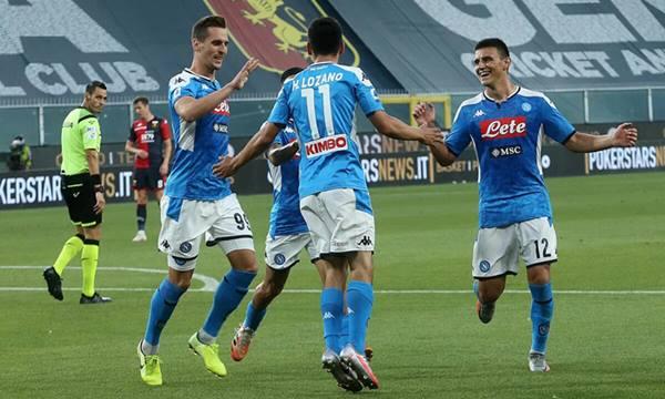 Nhận định trận đấu giữa Napoli vs Sassuolo 02h45 ngày 26/7