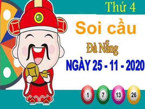 Soi cầu XSDNG ngày 25/11/2020 – Soi cầu KQXS Đà Nẵng thứ 4