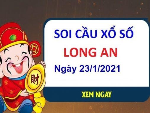 Soi cầu XSLA ngày 23/1/2021 – Soi cầu xổ số Long An thứ 7 hôm nay