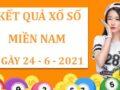 Soi cầu kết quả xổ số Miền Nam thứ 5 ngày 24/6/2021