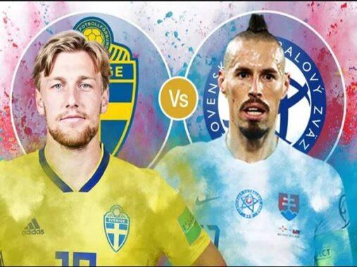 Nhận định Thụy Điển vs Slovakia, 20h00 ngày 18/6 Euro 2020