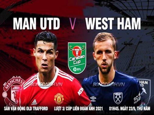 Nhận định kèo Man Utd vs West Ham, 01h45 ngày 23/9