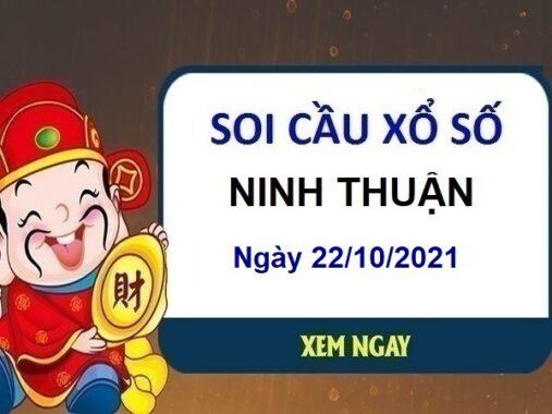 Soi cầu xổ số Ninh Thuận ngày 22/10/2021 hôm nay thứ 6